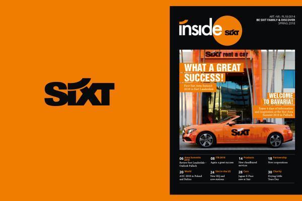 Sixt Magazine