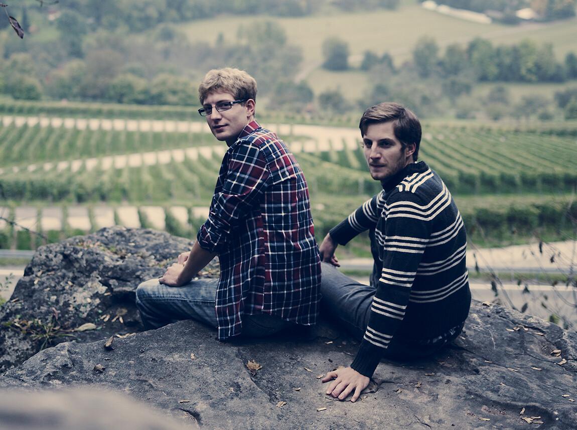 Die Winzer Markus und David Siegloch